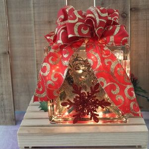 Other - New Christmas Holiday Home Table Decor Light Block